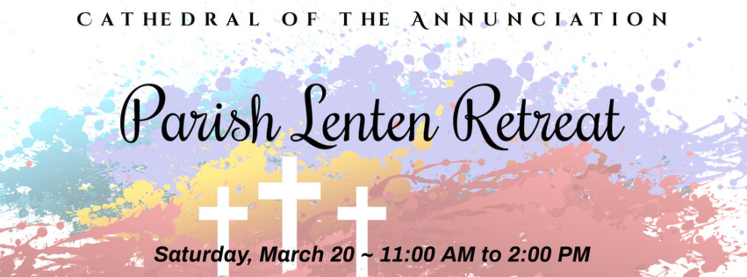 Parish Lenten Retreat Eng