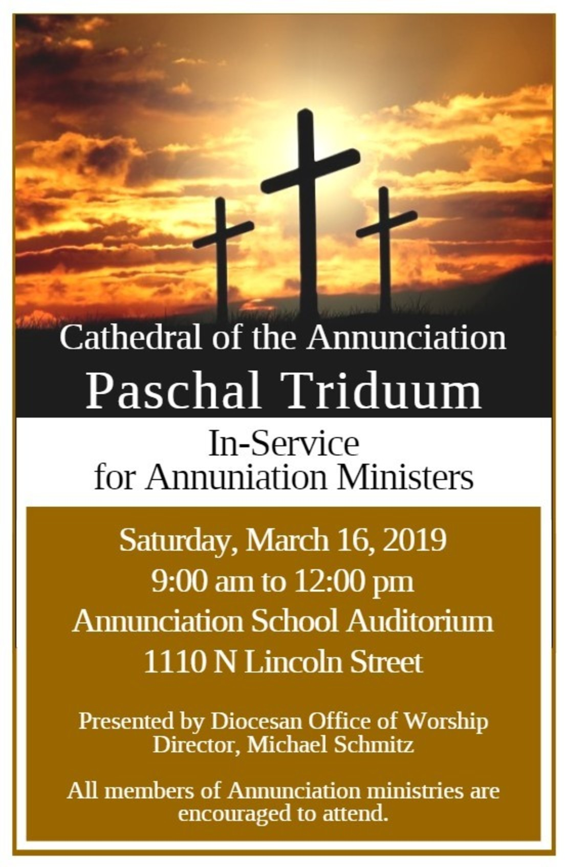 Paschal Triduum In Service