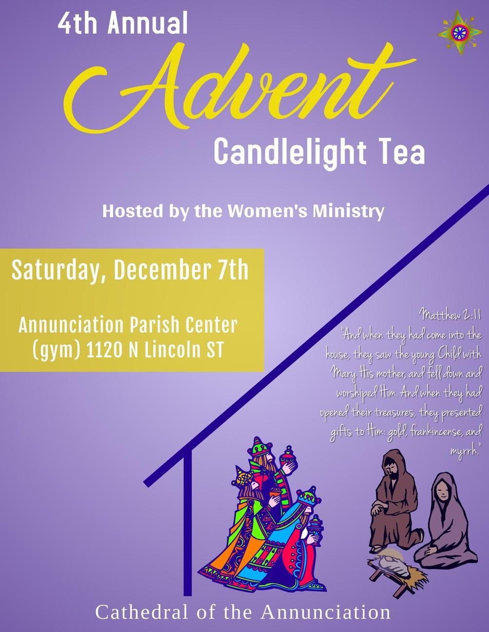 Advent Tea 19