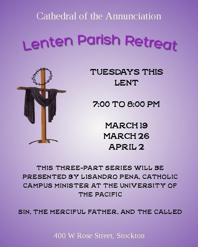 Parish Lenten Retreat 2019