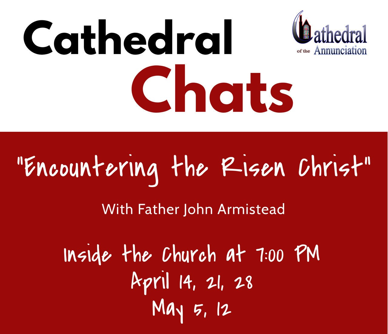 Cathedral Chats Dates