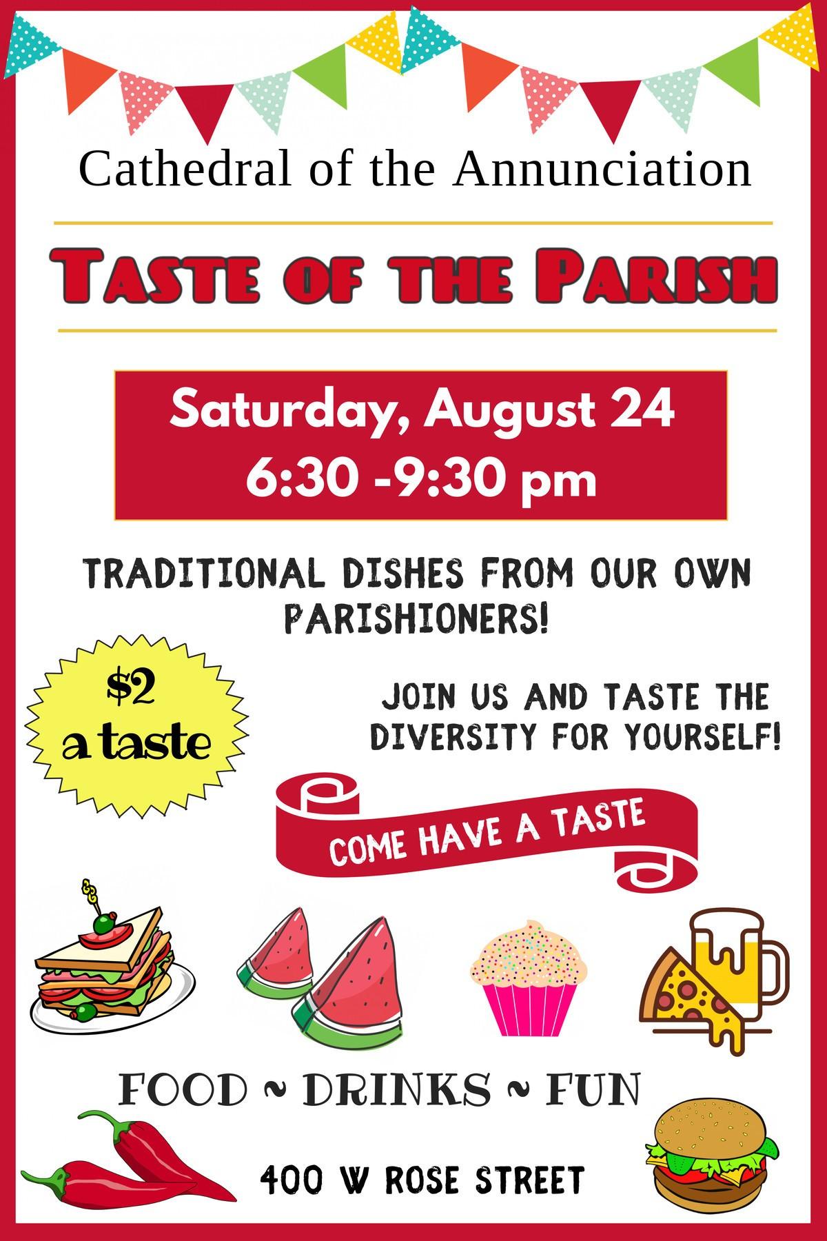 Taste Of The Parish 2