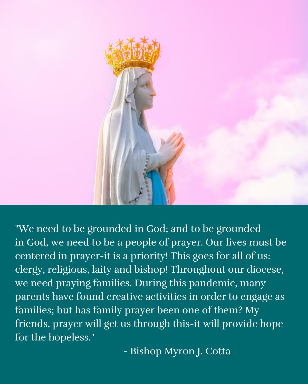 Bishop Cotta, Message