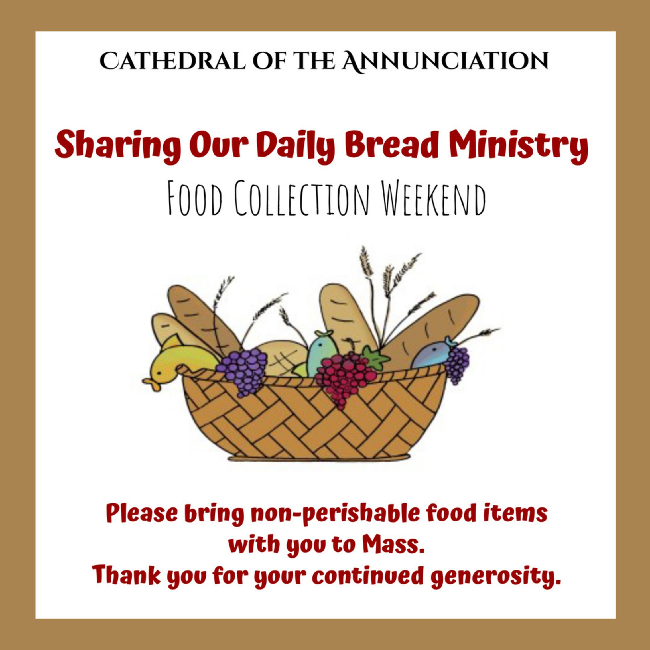 Sharing Our DailyBread