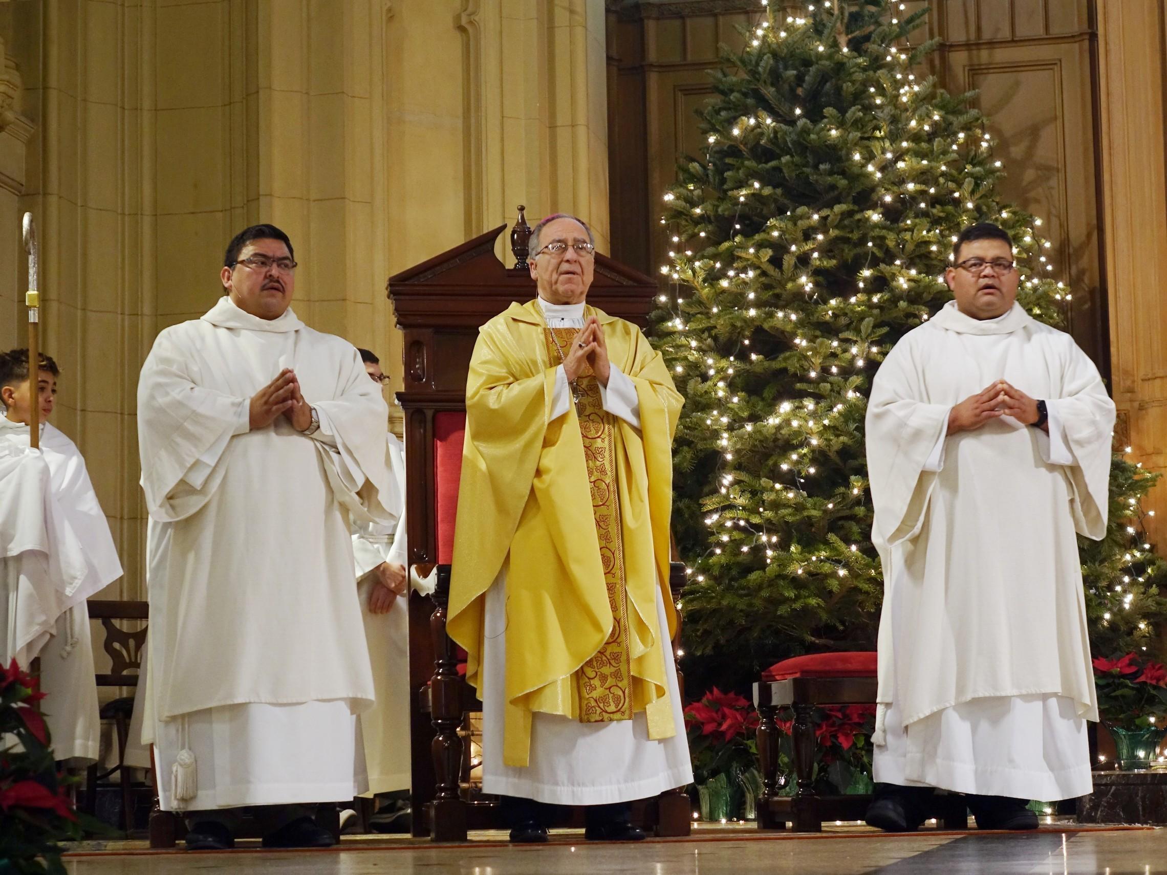 Bishop. Altar Servers