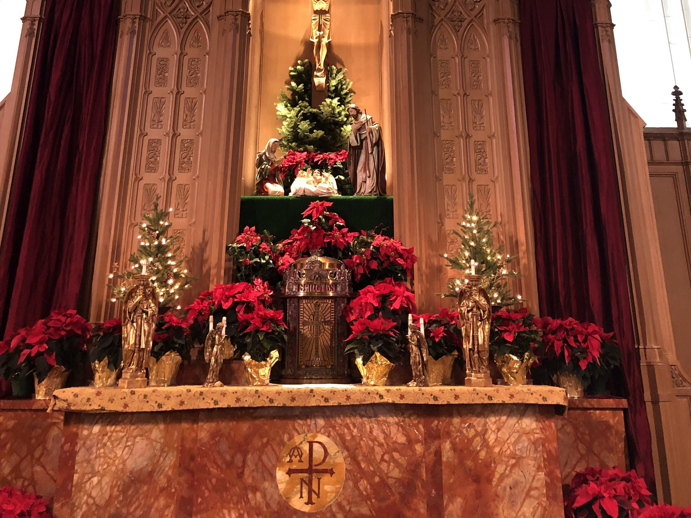 Altar. Christmas